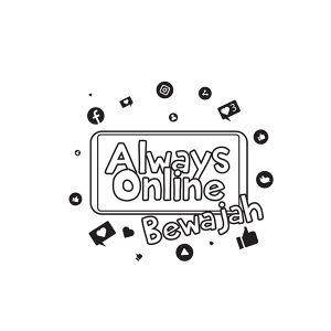 design Always online Bewajah